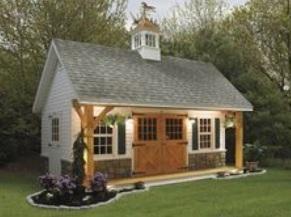 horse shelter build